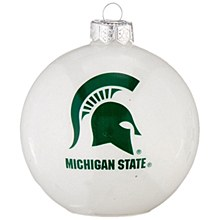 Michigan State University Ornanent - LED Color Changing Ornament