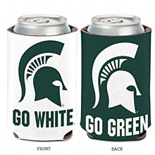 Michigan State University Coozie Slogan Can Cooler 12oz