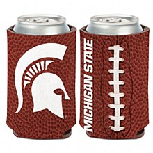 Michigan State University Coozie Football Can Cooler 12oz