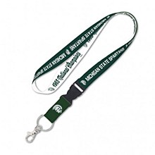 Michigan State University Lanyard College Vault with Detachable Buckle 1''