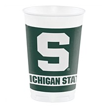 Michigan State University Cup - 20oz Plastic 8pk