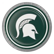 Michigan State University Plate - Luncheon Plate 7'' 8pk