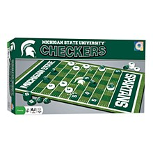 Michigan State University Game - Checkers Board Game