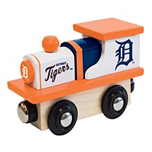 Detroit Tigers Toy Wood Train Engine