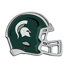 Michigan State University Emblem - Metal Helmet Auto Emblem