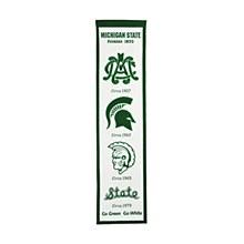 Michigan State University Banner - Michigan State Fan Favorite  32'' x 8''