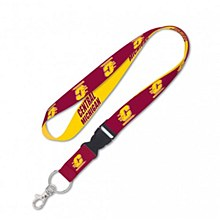 Central Michigan University Lanyard with Detachable Buckle