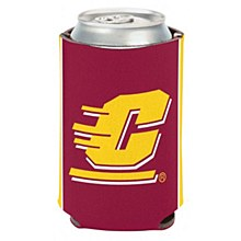 Central Michigan University Coozie Can Cooler 12oz
