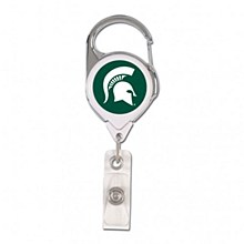 Michigan State University Badge Holder Premium Retrct 2S