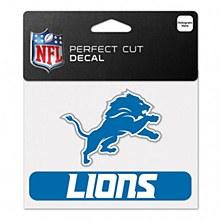 """Detroit Lions Decal - Perfect Cut Color 4.5"""" x 5.75"""""""