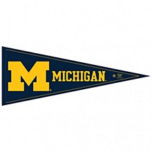 University of Michigan Pennant Classic 12' 'x 30''