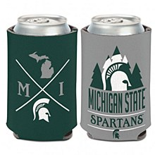 Michigan State University Coozie Hipster Can Cooler 12oz.