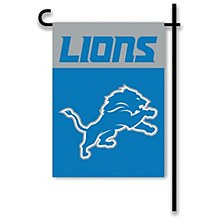 Detroit Lions Team Yard Flag 13'' x 18''