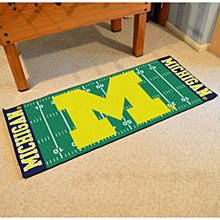 University of Michigan Rug - Football Field Runner 29''.5 x 72''
