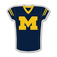 University of Michigan Pin Jersey Shape