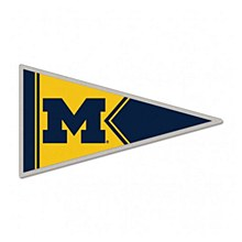 University of Michigan Pin Pennet Shape