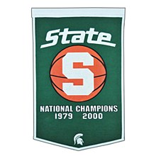 Michigan State University Banner - Basketball Banner 36'' x 24''