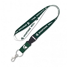 Michigan State University Lanyard - Spartans Will