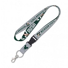 "Michigan State University Disney Lanyard 1"" bkl"