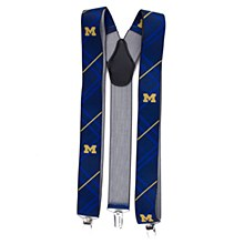 University of Michigan Suspender Oxford