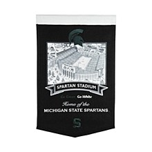 Michigan State University Banner - Spartan Stadium 24'' x 15''