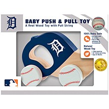 Detroit Tigers Baby Push & Pull Toy
