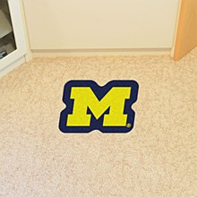 University of Michigan Rug - M Logo Mascot Mat 30'' x 40''
