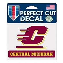 Central Michigan University Decal Perfect Cut 4.5'' x 5.75''