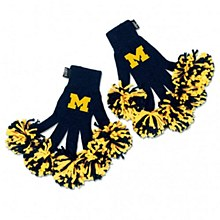University of Michigan Glove - Spirit Fingerz Embroidered