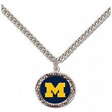 University of Michigan Necklace with Charm