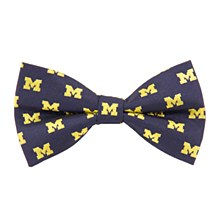 University of Michigan Tie - Michigan Bow tie Repeat M