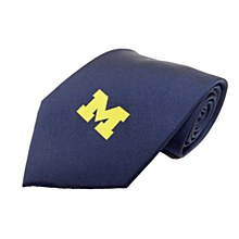 University of Michigan Tie - Michigan Solid Necktie