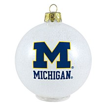 University of Michigan Ornament - LED Color Changing
