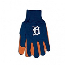 Detroit Tigers Gloves - Two Tone