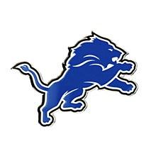 Detroit Lions Auto Emblem Blue