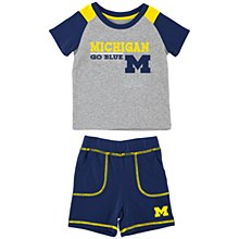 Mich Brant Set Grey 0-3 Mos