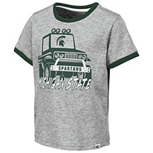 MSU Mud Flap Tee Grey 2T