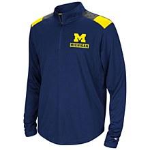 University of Michigan Wolverines 99 Yards Quarter-Zip Pullover