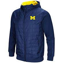 Mich Linebacker Jacket Navy SM