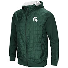 MSU Linebacker Jacket Green 2X