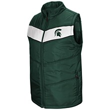 MSU Red Beaulieu Vest Green SM