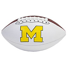 Mich Autograph Football 11.5''