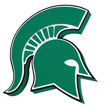 Michigan State Spartans 3D Foam Wall Sign