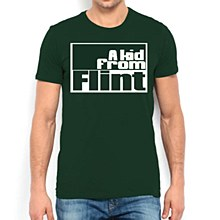 Flint Kid Campus Tee Green SM