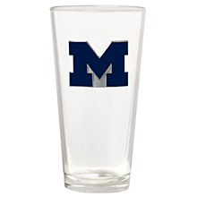 University of Michigan Glass - Wolverines The Blast 22oz. Pint Glass