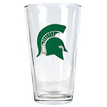 Michigan State Spartans 16oz Pint Glass (Primary Logo)