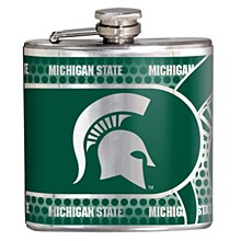 Michigan State University Flask 6 oz. Hip Flask