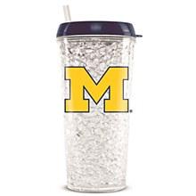 University of Michigan Crystal Freeze Tumbler 16oz