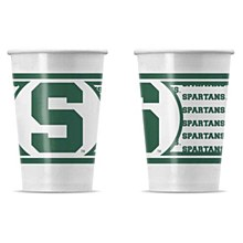 Michigan State University Disposable Paper Cups - 20 PK