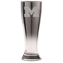 University of Michigan Glass Pilsner - Crystal Ice 16oz